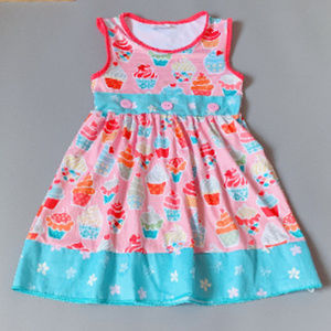 Other - Boutique Birthday Cupcake Pink Sleeveless Dress